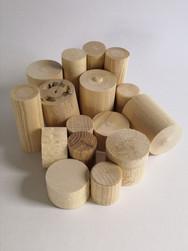 Cylindres en bois