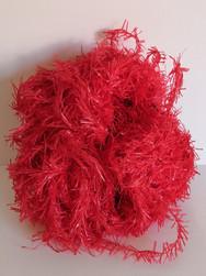 Guirlande plastique rouge