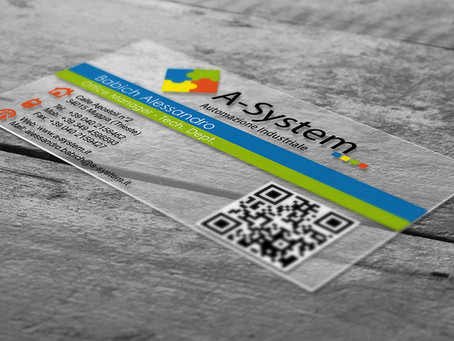 Cartes de visite en Policrystal