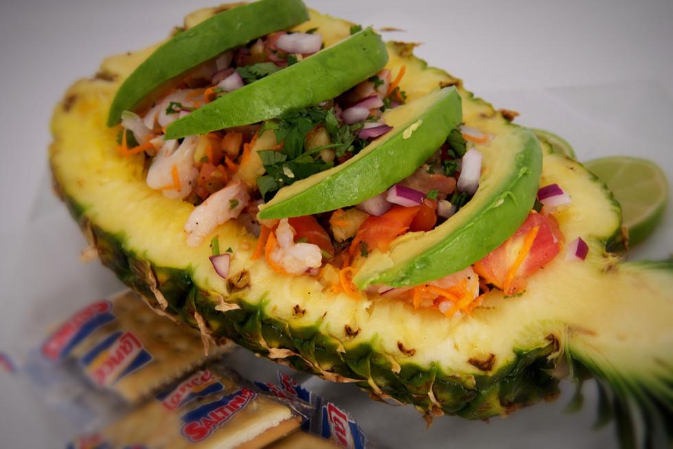 Piña Ceviche