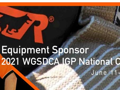 Major Equipment Sponsorship