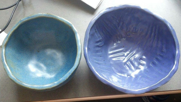 large pinch pot bowls