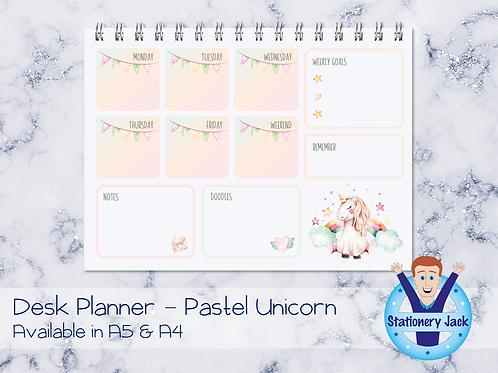 Unicorn Desk Planner