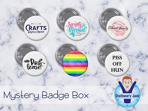 Badge Mystery Box