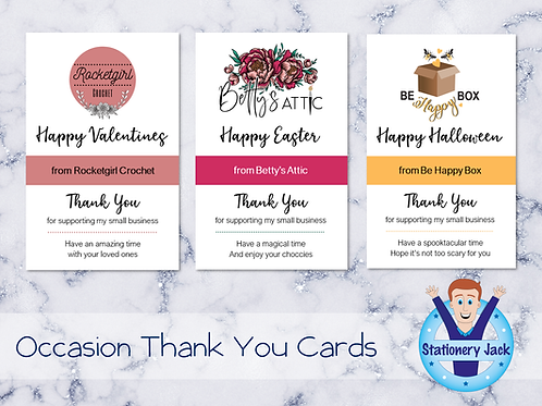 Occasion Thank You Cards