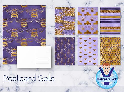 Lavender Honey Postcards