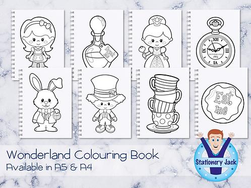 Wonderland Colouring Book