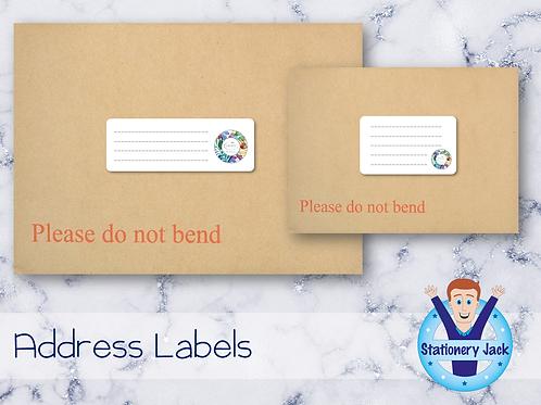 Tropic Address Labels