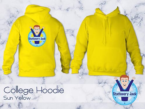 College Hoodie - Sun Yellow