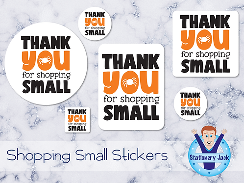 Shopping Small Stickers