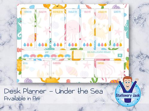 Under The Sea Desk Planner
