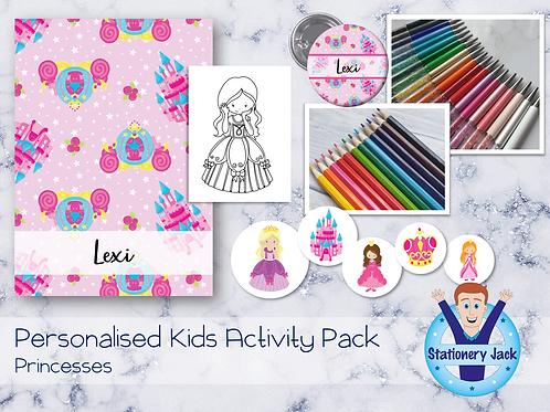 Princesses Kids Activity Pack