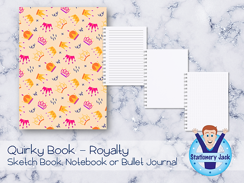 Quirky Book - Royalty