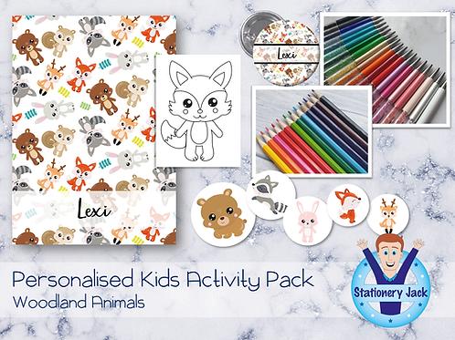 Woodland Animals Kids Activity Pack