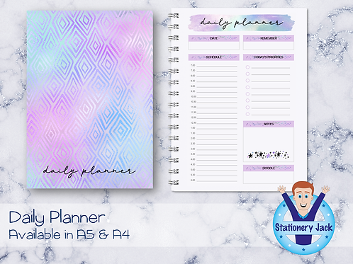Holo Night Daily Planner