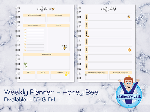 Honey Bee Personal Planner