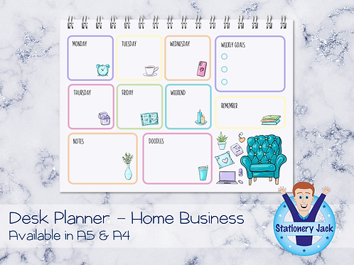 Home Business Desk Planner