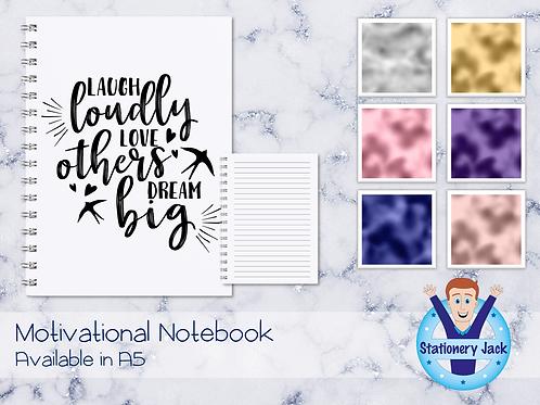 Laugh Love Dream Notebook