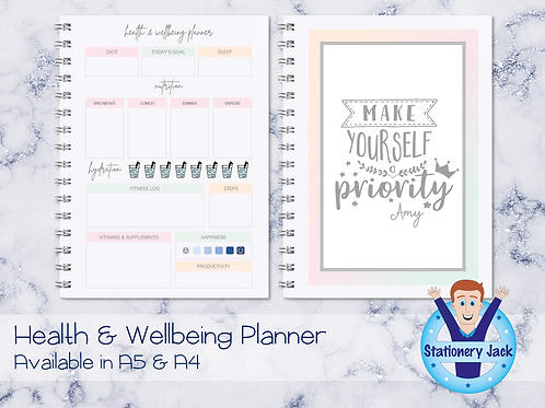 Health & Wellbeing Planner