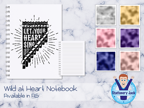 Let Your Heart Sing Notebook