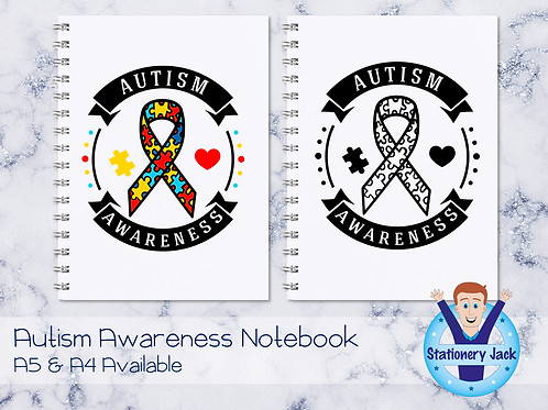 Awareness Badge Notebook