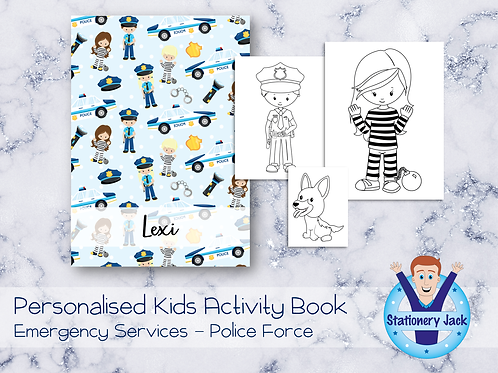 Police Force Activity Book