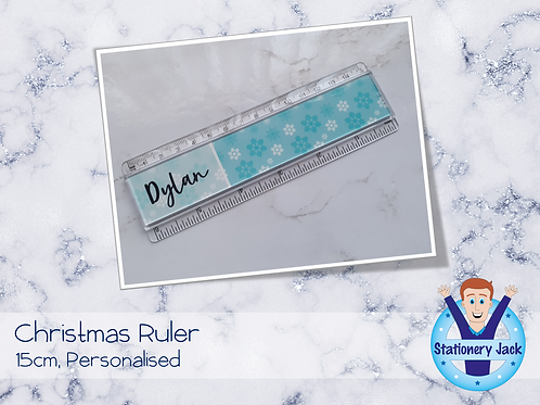 Christmas Personalised Ruler
