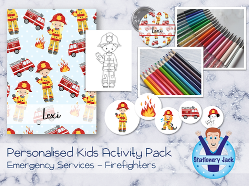 Firefighters Kids Activity Pack