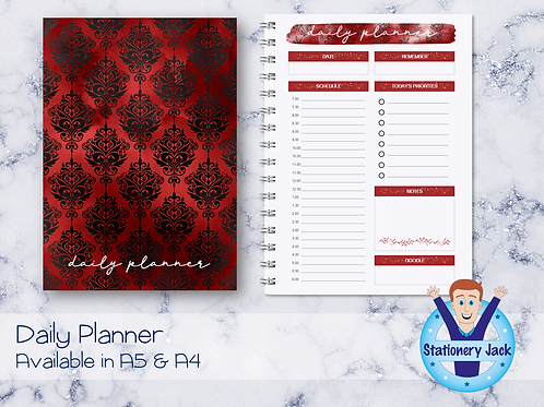 Temptation Daily Planner