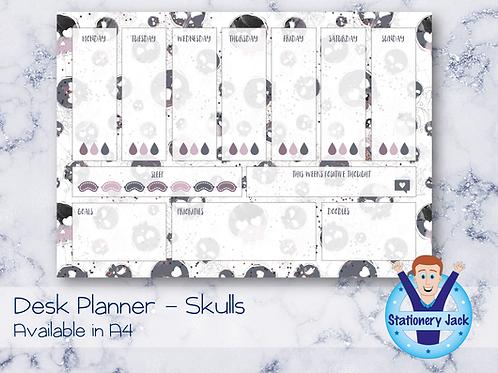 Skulls Desk Planner