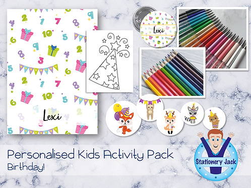 Birthday Activity Pack