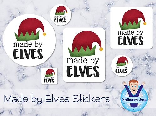 Made by Elves Stickers