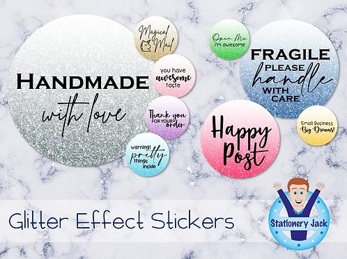 Glitter Effect Stickers