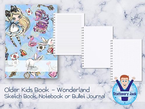 Older Kids Book - Wonderland
