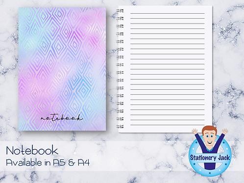 Holo Night Notebook