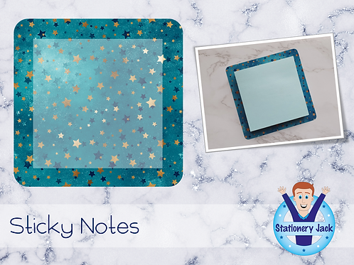 Ocean Galaxy Sticky Notes