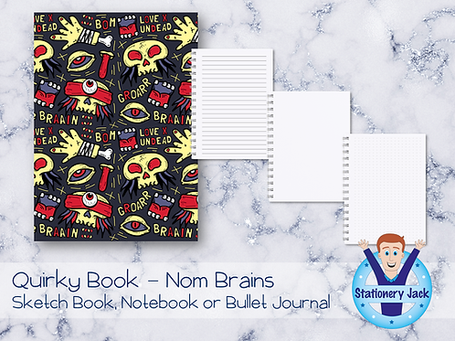 Quirky Book - Nom Brains