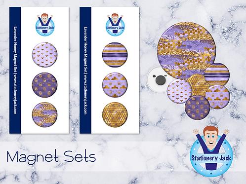 Lavender Honey Magnets