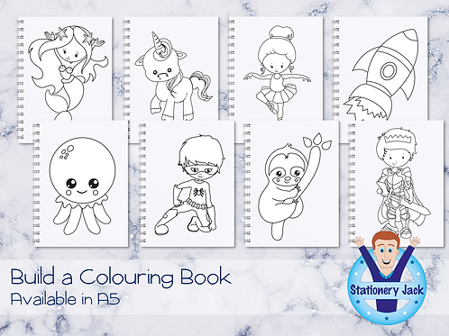 Build a Colouring Book