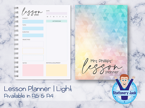 Lesson Planner - Light Version