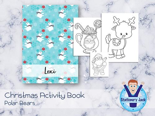 Polar Bears Activity Book
