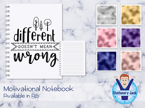 Different Doesn't Mean Wrong Notebook