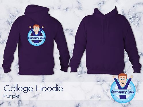 College Hoodie - Purple
