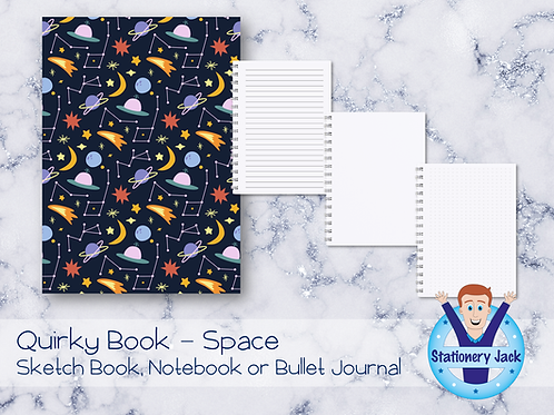 Quirky Book - Space