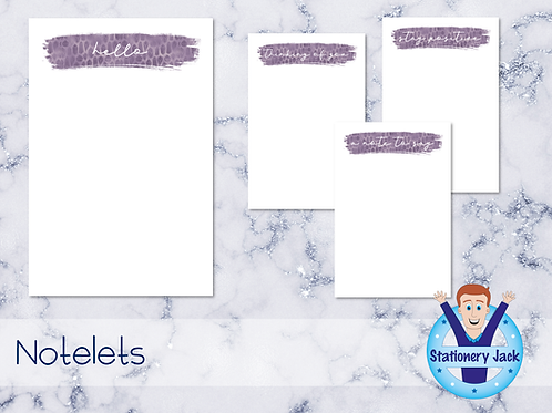 Amethyst Notelets