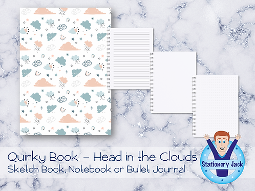 Quirky Book - Head in the Clouds