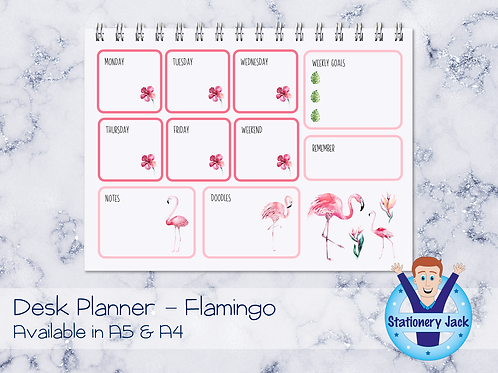 Flamingo Desk Planner