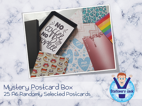 Mystery Postcard Box
