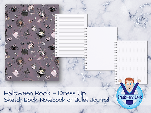 Halloween Book - Dress Up