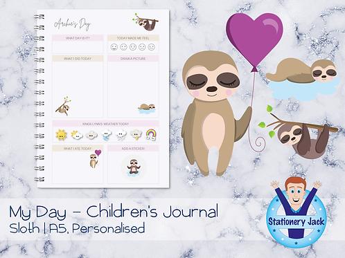 Sloth Kids Journal